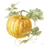 Floursack Autumn V on White Art Print