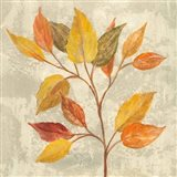 November Leaves II Art Print