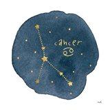 Horoscope Cancer Art Print