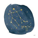 Horoscope Gemini Art Print