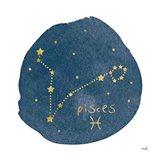 Horoscope Pisces Art Print