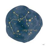 Horoscope Sagittarius Art Print