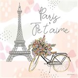 Sweet Paris II Art Print