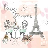 Sweet Paris III Art Print