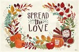 Spread the Love I Art Print