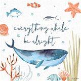 Whale Tale IV Art Print