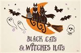 Spooktacular I Witches Hats Art Print
