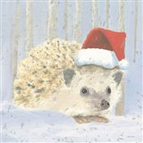 Christmas Critters Bright IX Art Print