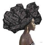 Pure Style II Black Art Print
