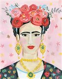 Homage to Frida Art Print