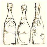 Champagne is Grand III Art Print