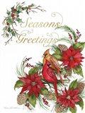 Holiday Happiness VI Greetings Art Print