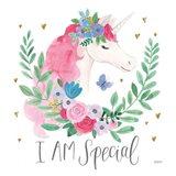 Magical Friends III Butterfly Art Print
