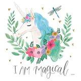 Magical Friends IV Dragonfly Art Print
