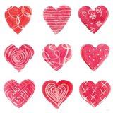 Hearts and More Hearts I Art Print