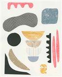Mixed Shapes I Art Print
