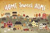 Harvest Village II Art Print