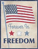 Forever in Freedom Dark Art Print