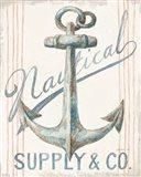 Floursack Nautical V Art Print