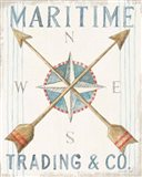 Floursack Nautical VI Art Print