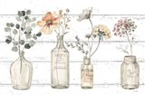 A Country Weekend VIII v2 Fall Flower Art Print