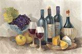 Wine and Fruit I v2 Light Art Print
