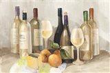 Wine and Fruit II v2 Light Art Print