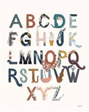 Alphabet A to Z Art Print