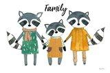 Neighborhood Pals X Family Art Print