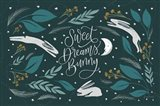 Sweet Dreams Bunny I Art Print