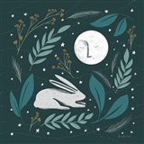 Sweet Dreams Bunny III Art Print