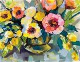 Cottage Bouquet Art Print