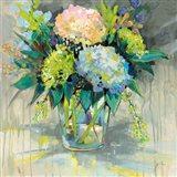 Hydrangeas from the Garden Art Print