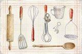 Floursack Kitchen IX Art Print