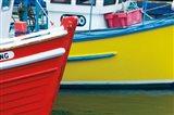 Orkney Fishing Boats Art Print