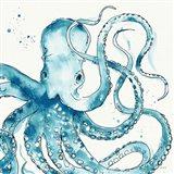 Deep Sea VIII Teal Art Print