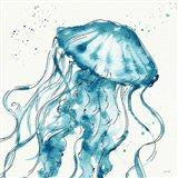 Deep Sea X Teal Art Print