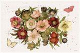Vintage Petals IV Art Print