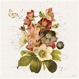 Vintage Petals VI Art Print