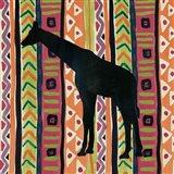 African Animal III Jewel Art Print
