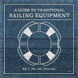 Vintage Sailing Knots X Art Print