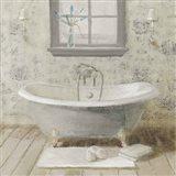 Victorian Bath I Neutral Art Print