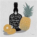 Fruity Spirits Rum Art Print