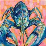Lilly Lobster I Art Print