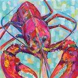 Lilly Lobster III Art Print