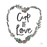 Cup of Love Art Print