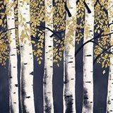 Fresh Forest Indigo II Art Print