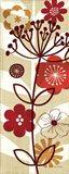 Floral Pop II Panel Art Print