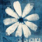 Daisy for Belinda Blue Art Print
