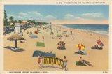 Beach Postcard I Art Print
